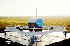 Amazon's latest drone test design.