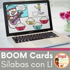 This deck will allow your students to practice identifying the beginning syllable sounds with the letter ll- Sílabas iniciales con la letra ll (lla, lle, llo and llu). Students look at the pictures, find the beginning syllable, and drag and drop the syllable to complete the word. This deck is PERFECT for non-readers and early readers since it includes SOUND. #syllablesactivitiesinspanish #syllablesinspanish #alphabetactivitiesinspanish #silabas #actividadesdelassilabas #primergradoprimaria Spanish Teacher, Spanish Classroom, Teaching Spanish, Spanish Projects, Spanish Lessons, Class Activities, Alphabet Activities, Reading Resources, Teacher Resources