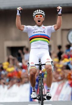 #hushovd! In my house we call him the Viking. Missed him at le Tour this year.