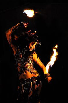 Leather Tribal Costume for the birthday of le Palais de Tokyo - Paris (January Fire Fans, Style Oriental, Fire Photography, Tribal Costume, Fire Dancer, Lady, Soul On Fire, Tribal Fusion, Dance Pictures
