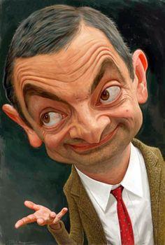 Mr Bean Caricature
