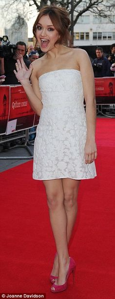olivia cooke glamour 2014 - Google Search