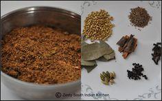 Garam Masala/ Indian Spice Blend - Zesty South Indian Kitchen