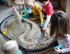 Quut in the classroom, great summer sand fun
