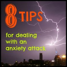 8 tips for dealing with an anxiety attack