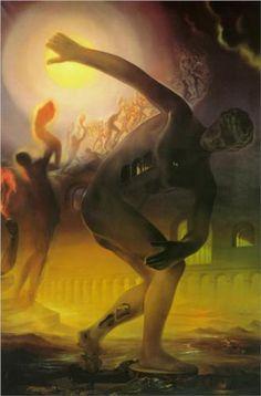 The Cosmic Athlete - Salvador Dali  1960