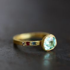 Ring | Looks like it came up from the sea, ancient, so strong and delicate at the same time. I want!