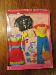 Barbie Metro Styles Lunch In Little Italy Fashion Avenue Set No.25701 NRFB