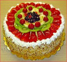 Torta di frutta torta alla frutta torta con frutta ricetta con frutta ricetta estiva ricetta primavera ricetta leggera Dulcisss in forno