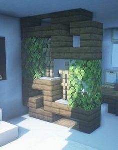 - Minecraft World Casa Medieval Minecraft, Modern Minecraft Houses, Minecraft Room, Minecraft Plans, Minecraft House Designs, Minecraft Tutorial, Minecraft Architecture, Minecraft Blueprints, Minecraft Creations