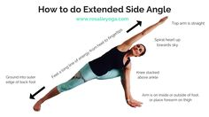 How to do Extended Side Angle