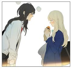 Manga Tamen De Gushi - Chapter 152 - Page 10 Anime Girlxgirl, Yuri Anime, Anime Art, Manhwa, Tan Jiu, Character Art, Character Design, Anime Friendship, Lesbian Art