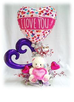 ... Balloon Bouquet on Pinterest | Balloon bouquet, Balloons and Bouquets