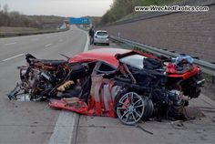 2007 Ferrari F430 Scuderia wrecked, Laatzen, Germany, photo #2