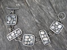sterling silver artisan hand wrought one of by LisaColbyMetalsmith