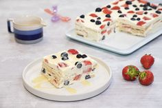Egy finom Gyümölcsös kekszjégkrém ebédre vagy vacsorára? Gyümölcsös kekszjégkrém Receptek a Mindmegette.hu Recept gyűjteményében! Frozen Yogurt, Sorbet, Parfait, Fudge, Pudding, Ice Cream, Baking, Breakfast, Cake