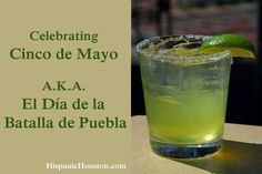 Celebrating Cinco de Mayo, A.K.A. El Día de la Batalla de Puebla – Hispanic Houston - http://bit.ly/1Edeihe #hispanichou #hispanichistory http://ow.ly/i/aFoas <--  Cinco de Mayo commemorates the Mexican army's victory over French forces at the Battle of Puebla on May 5, 1862, under the leadership of General Ignacio Zaragoza Seguín (according to my history class and Wikipedia). The Mexican army was comprised of 4,000 Mexican soldiers and they were greatly outnumbered by the well-equipped French army by nearly double; it's important to note that the French army had not been defeated for almost 50 years.  And, by the way, since this battle no European force has invaded a country on the American continent.  Toast to that today.