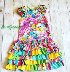 Shopkins / scraptastic dress