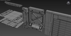 Building Materials and Meshes for Sci-fi Games