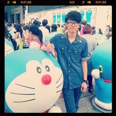 今日著左裝修工人裝去睇多次多啦:-) #feeling #fashion #fun #doraemon #boy #beautiful #girl #happy #hkig - @bestaaaa- #webstagram