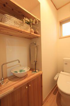 トイレには、収納や可愛い洗面ボウルを取り付けました。#洗面ボウル#トイレ#トイレ収納