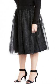 Tulle Curvy Skirt