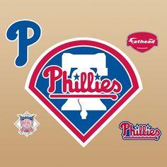 Philadelphia Phillies Logo, Fathead | PBteen
