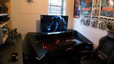 This Guy Built a Custom PC Gaming Desk, and It's Rad