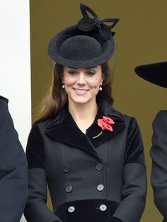 Princess Kate's Radiant Remembrance Day Style: A Look Back at Her Sleek Coat Dresses http://stylenews.peoplestylewatch.com/2015/11/09/princess-kates-rememberance-day-coat-dress/