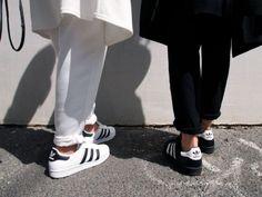 Adidas Superstar | Minimal + Chic | @codeplusform
