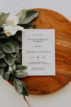 100% Self Editable Engagement Party Invitation Engagement Party Invitations, Wedding Invitation Templates, Invitation Design, Casual Wedding Invitations, Invitation Ideas, Casual Wedding Reception, Wedding Table, Wedding Schedule, Print Place