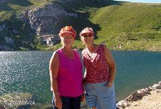 Sister Sandy and me at Angel Lake