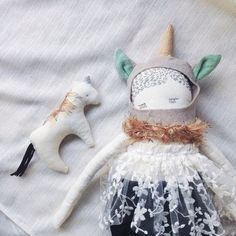 Hey, I found this really awesome Etsy listing at https://www.etsy.com/listing/250525454/june-and-mala-the-unicorn-cloth-doll