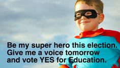 California spoke up and voted Yes for Education.