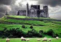 IrishCentral's top ten castles  to visit in Ireland- The rock of Cashel, Co. Tipperary