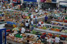 Russian bazaar, Ashgabat, Turkmenistan