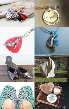 Mother's Day by Laura Mae Hansen on Etsy--Pinned with TreasuryPin.com #etsy #treasury #art #bag #cards #gifts #handmade #heart #homedecor #knit #mom #mother #mothersday #necklace #slippers #treasurybox #vintage #wallet