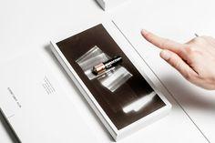 thermochromic name card design by viennese designer bureau rabensteiner.