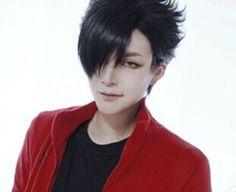 Haikyuu!! Kuroo Tetsurou Black Short Nekoma High School Cosplay Wigs Usa Ship