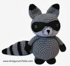 mapache-bandido-amigurumi