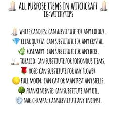 🌿 Not all of us have a flourishing cabinet of herbs, oils, crystals and incense. Witchcraft Spells For Beginners, Magick Spells, Wicca Witchcraft, Wicca For Beginners, Wiccan Spell Book, Wiccan Witch, Witch Spell, Spell Books, Tarot