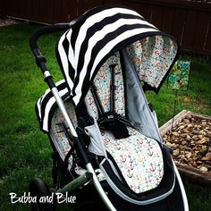 Britax B Ready main seat and booster seat liners and canopies with peek windows on Etsy, $240.00