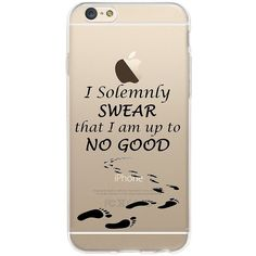 New iPhone 7 (4.7 Harry Potter Solemnly Swear I Am Up To No Good... ($20) ❤ liked on Polyvore featuring accessories and tech accessories