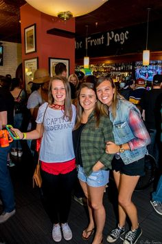 A group of girls celebrating the 90's Bar Crawl in Washington, DC on Saturday September 26th 2015. || #AlexTonettiPhotography #Photography
