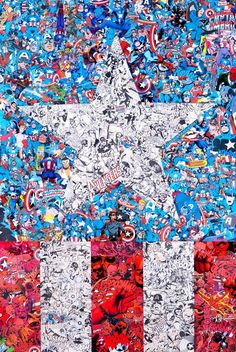 Marvel Collages – Les créations minutieuses de Mr Garcin