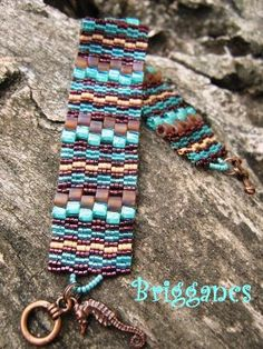 Briggancs... very cool. gives me an idea for weaving a DIY bracelet