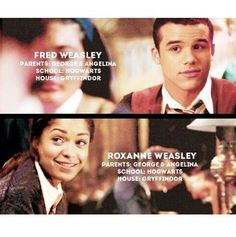 #2fred#fredweasley#roxanneweasley#georgeweasley#angelinajohson#gryffindor#hogwarts#nexthogwartsgeneration