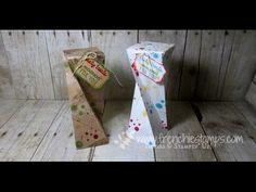 """Une copine m'a demandé comme réaliser la boite twisted suite à une vidéo youtube en anglais et voici le résultat La vidéo d'orignie a été réalisée par frenchiestamps J'ai adapté la taille pour pouvoir décorer ma boite avec un bloc de papier de 6""""x6"""" ou..."""