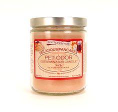 Delicious Pancakes Pet Odor Exterminator Candle