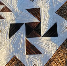 spinning star quilt design from Green Fairy Quilts